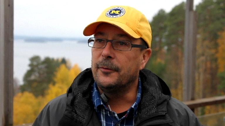 Tomas Sevä, Muonio sameby. Foto: SVT