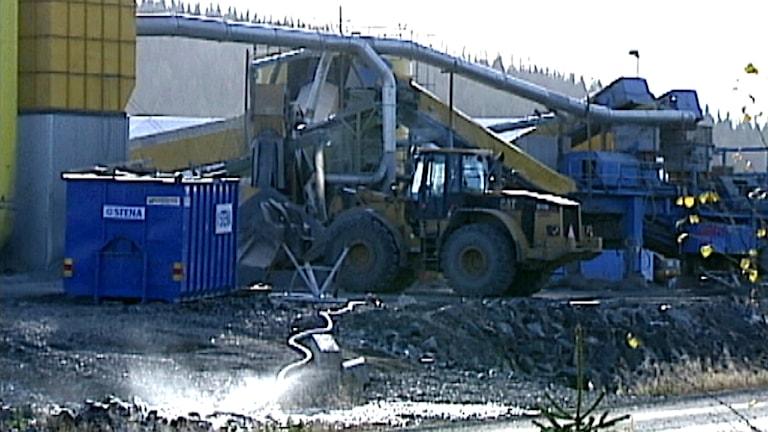 Svartliden-gruvan utanför Storuman. Foto: SVT