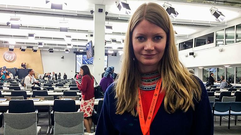 Josefina Lundgren Skerk. Foto: Jenny Israelsson-Skoglund/ Sveriges Radio