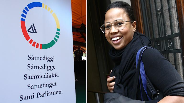 Alice Bah Kuhnke (MP) övertar ansvaret för Sametinget. Foto: SR Sameradion / Fredrik Persson / TT§