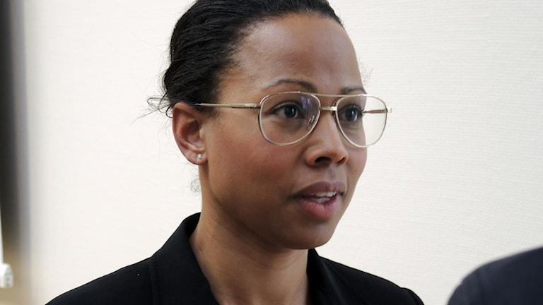 Kultur- och demokratiminister Alice Bah Kuhnke. Foto: SR Sameradion