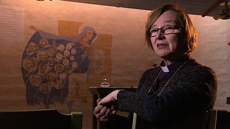 Biskop Tuulikki Koivunen Bylund, Härnösands stift. Foto: Ulf Sandlund/ SVT
