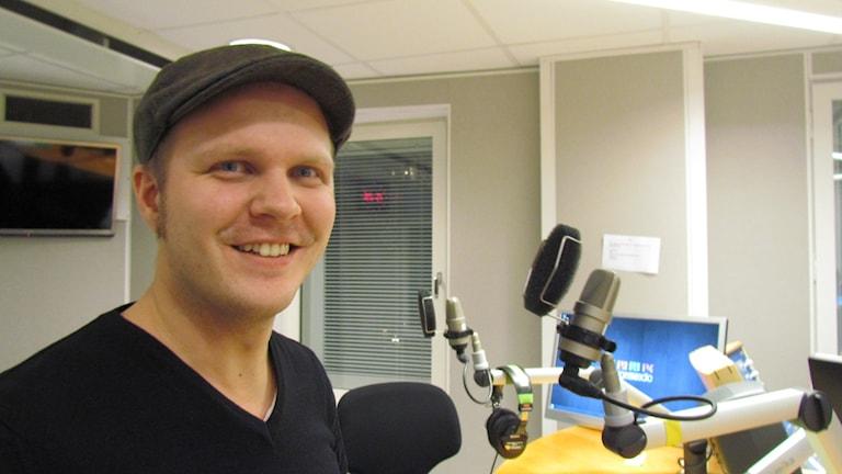 Nils Harnesk, Norrbottens museum. Foto: Anna Sunna/Sveries Radio Sameradion