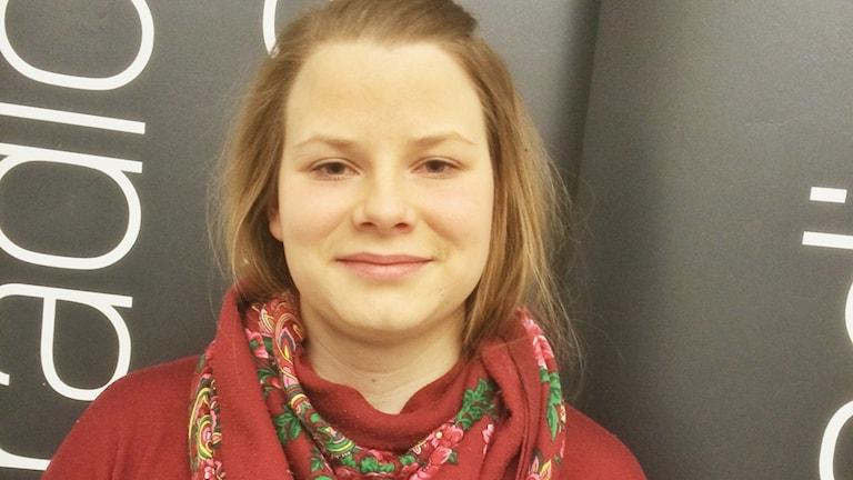 Helena Partapuoli. Foto: Sveriges Radio