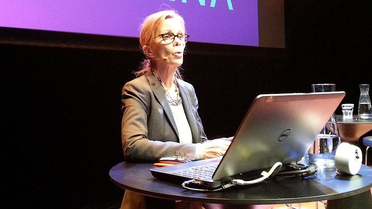 Diskrimineringsombudsmannen Agneta Broberg. Foto: SR Sameradion / Thomas Sarri