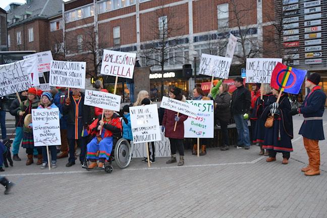 Demonstrationer om Ume samisk skriftspråk