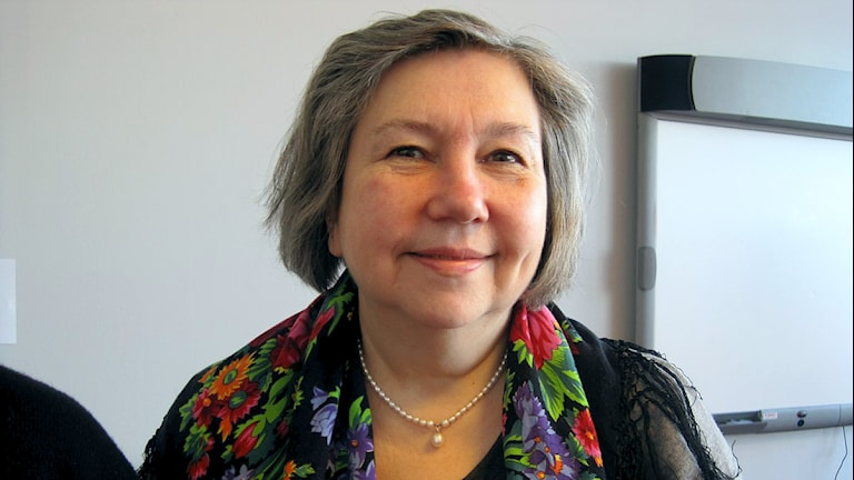 Anne Dalheim, samiska kyrkorådets ordförande i Norge. Foto: Kjell Are Guttorm/ NRK Sápmi