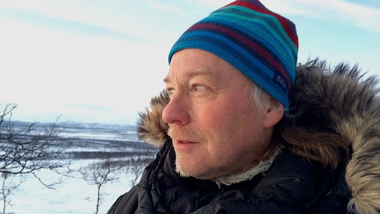 Matti Berg, ordförande i Girjas sameby. Foto: Máret Steinfjell/ SVT Sápmi