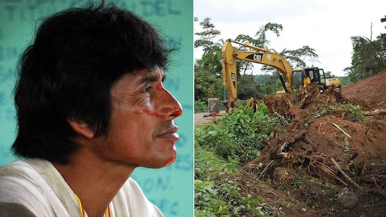 Miljöaktivisten Edwin Chota dödades när han försökte skydda sin skog i Amazonas, Peru. Foto: Emory Richey/ AP/ TT