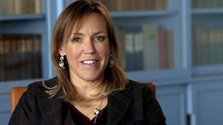 Åsa Larsson, författare. Foto: SVT