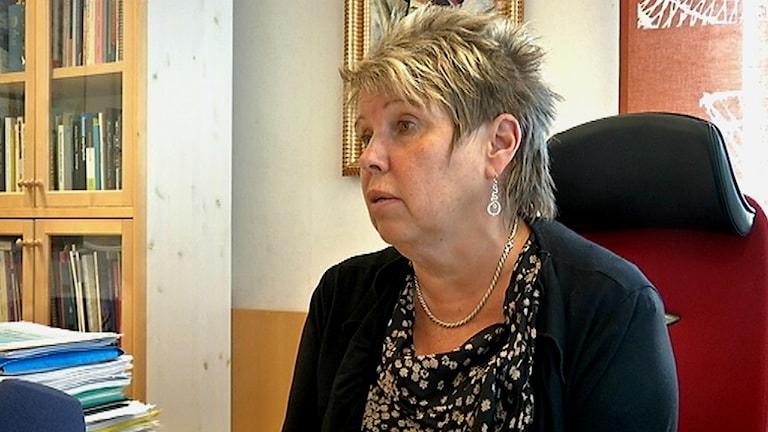 Anja Taube. Foto: SVT Sápmi