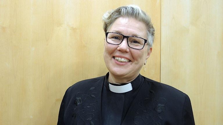 Eva Nordung Byström, biskop Härnösands stift. Foto: SR Sameradion