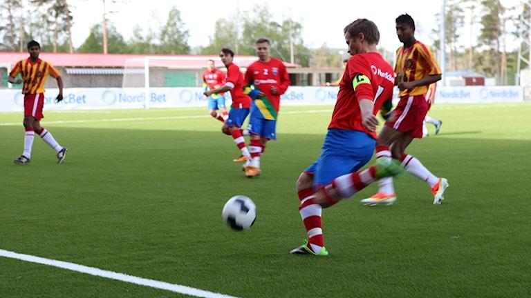 Conifa World Cup 2014 Östersund. Foto: Anne Marit Päiviö