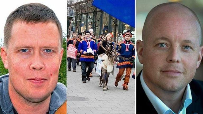 Mattias Åhrén, Björn Söder. Foto: SVT / TT