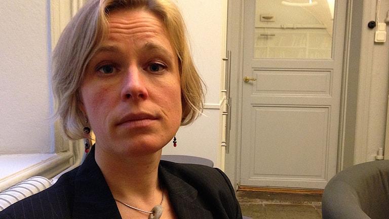 Johanna Westeson, människorättsjurist, Civil rights defenders. Foto: Jörgen Heikki/SR Sameradion.