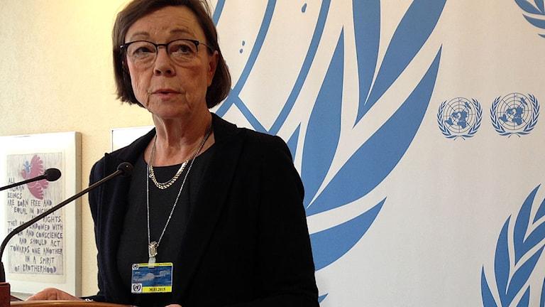 Annika Söder, kabinettsekreterare vid UD. Foto: Jörgen Heikki.