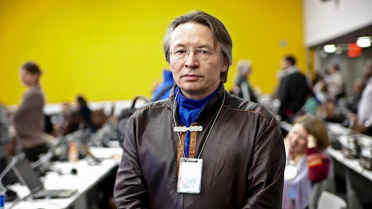 Lars-Anders Baer. Foto: Per-Josef Idivuoma/ Sameradion & SVT Sápmi