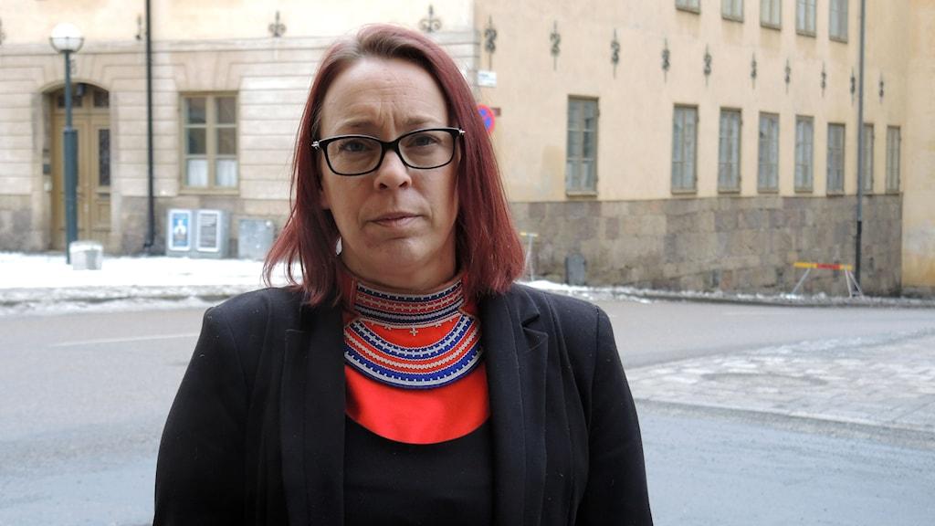 Jenny Wik Karlsson, SSR. Foto: SR Sameradion
