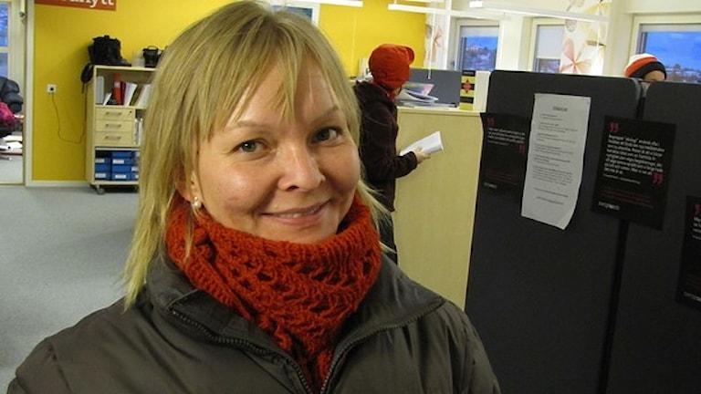 Ellen Marit Labba Foto: Olle Arvidson / Sameradion