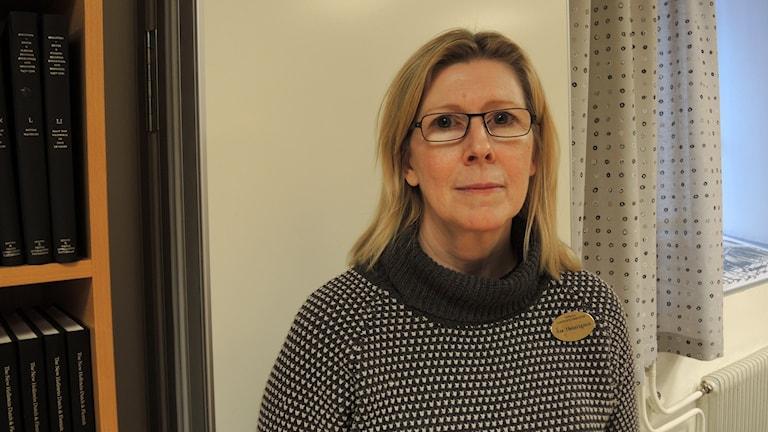 Åsa Henningsson, Uppsala universitetsbibliotek. Foto: Sameradion & SVT Sápmi