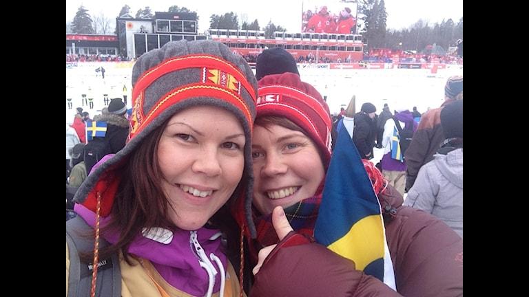 Johanna och Karolina Sevä Foto:Privat