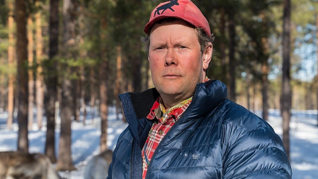 Anders Erling Fjällås, ordförande i samebyn Semisjaur-Njarg
