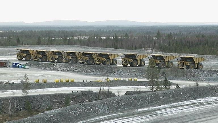 Northlandgruvan. Foto: SVT