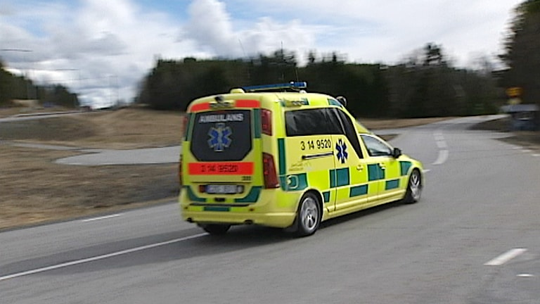 Ambulans. Foto: SVT
