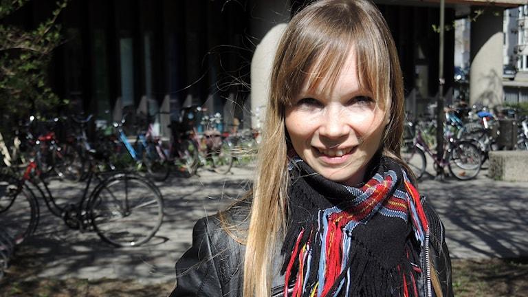 Författaren Ann-Helén Laestadius. Foto: Sameradion & SVT Sápmi