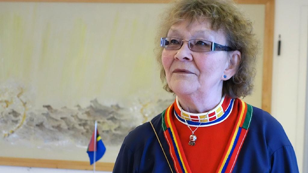 Agneta Silversparf. Foto: David Rydenfalk, Sameradion & SVT Sápmi