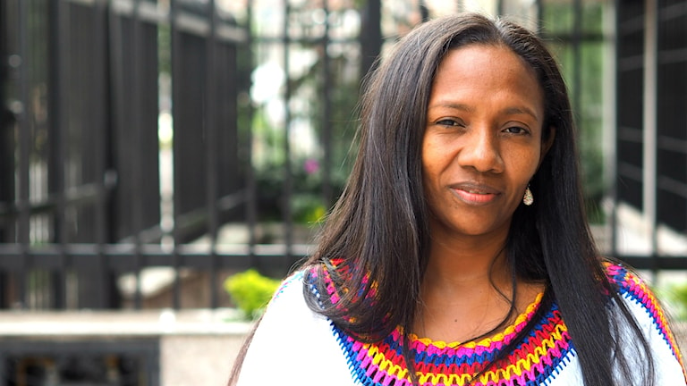 colombianska människorättsförsvararen Matilde López från La Guajira . Foto: Lari Honkanen/ Sveriges Radio