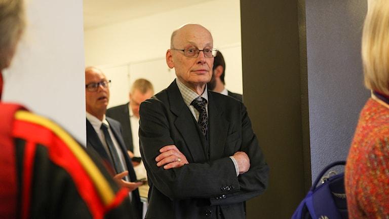 Statens företrädare Hans Forssell. Foto: Máret Steinfjell/ Sameradion & SVT Sápmi