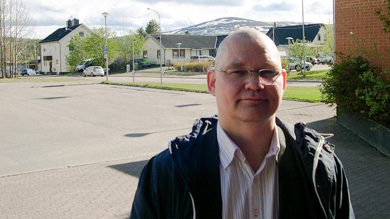 Patrik Lantto, professor i samisk historia. Foto: John Kuoljok/ Sameradion & SVT Sápmi