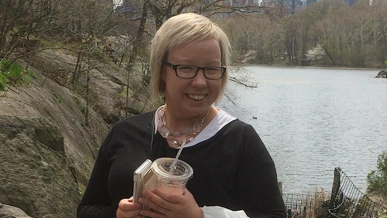 Tiina Johansen. Foto: Anna Sunna, Sameradion & SVT Sápmi
