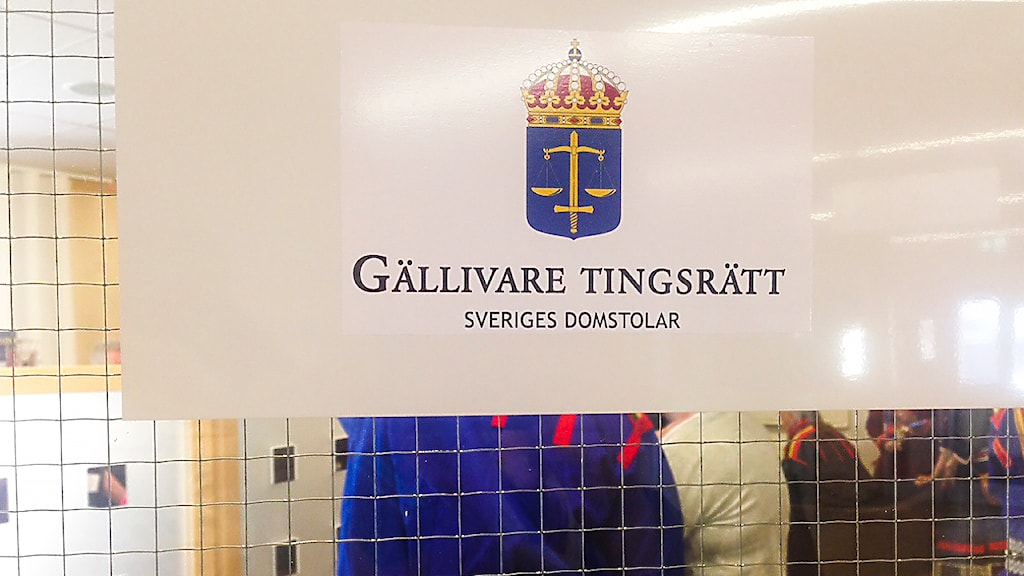 Gällivare tingsrätt. Foto: Anne-Maret Päiviö/ Sameradion & SVT Sápmi