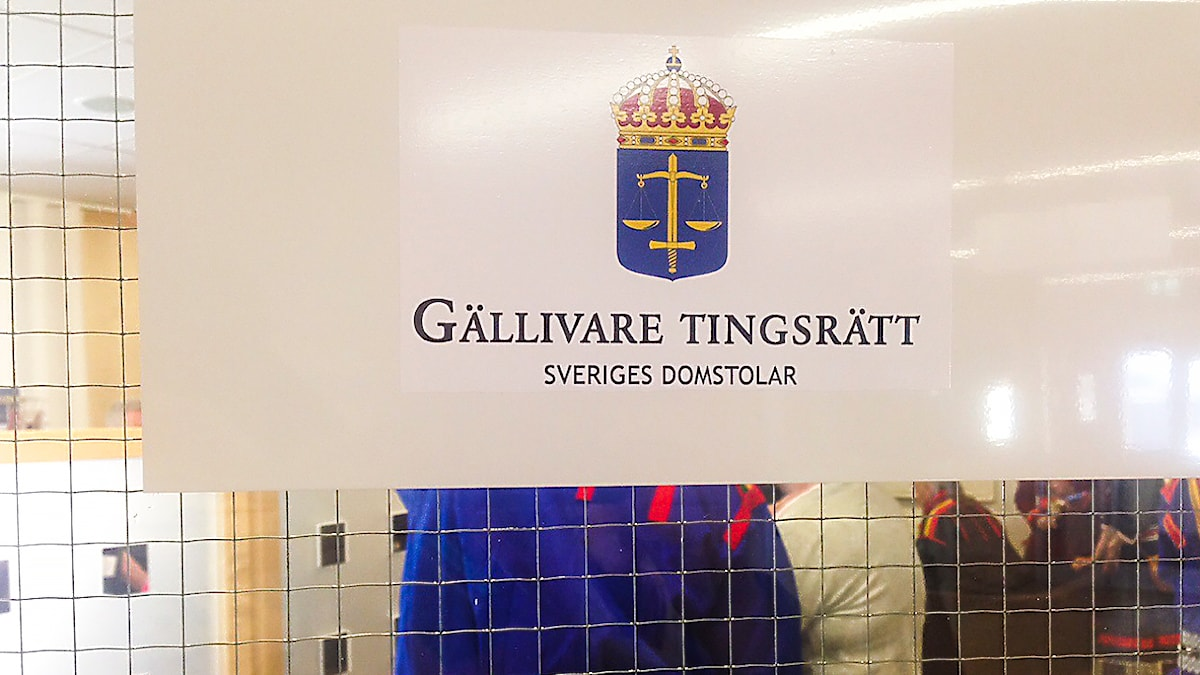 Gällivare tingsrätt. Foto: Lars-Ola Marakatt/ Sameradion & SVT Sápmi