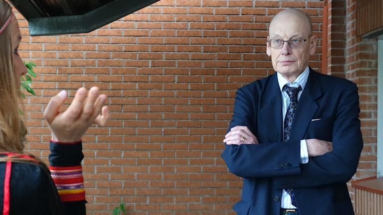 Hans Forsell, statens företrädare i Girjasrättegången. Foto: David Rydenfalk/ Sameradion & SVT Sápmi.