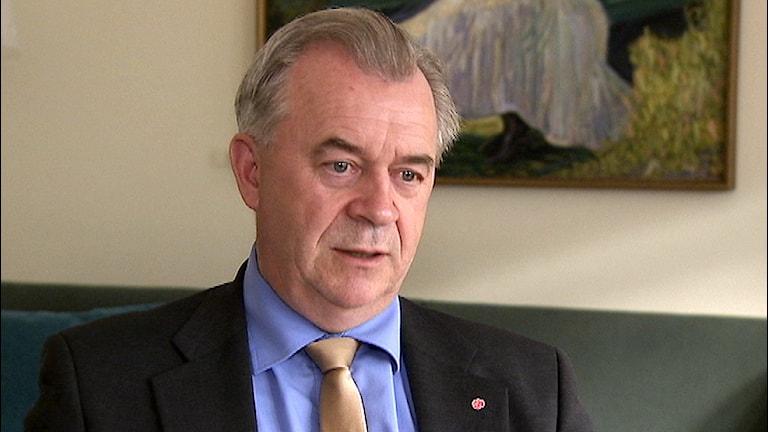 Landsbygdsminister Sven-Erik Bucht. Foto: Pelle Wickman/ SVT