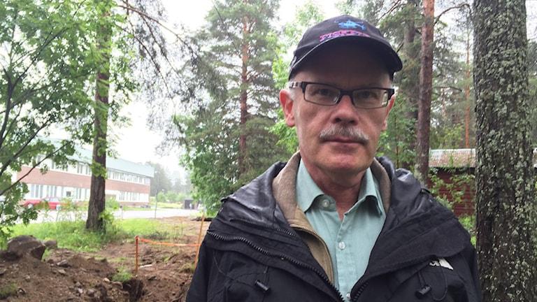 Kjell-Åke Aronsson, museichef Ájtte. Foto: Anne Marit Pentha Päiviö / Sameradion & SVT Sápmi