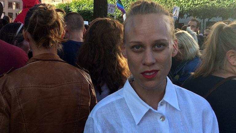 Carola Grahn. Foto: Sameradion & SVT Sápmi