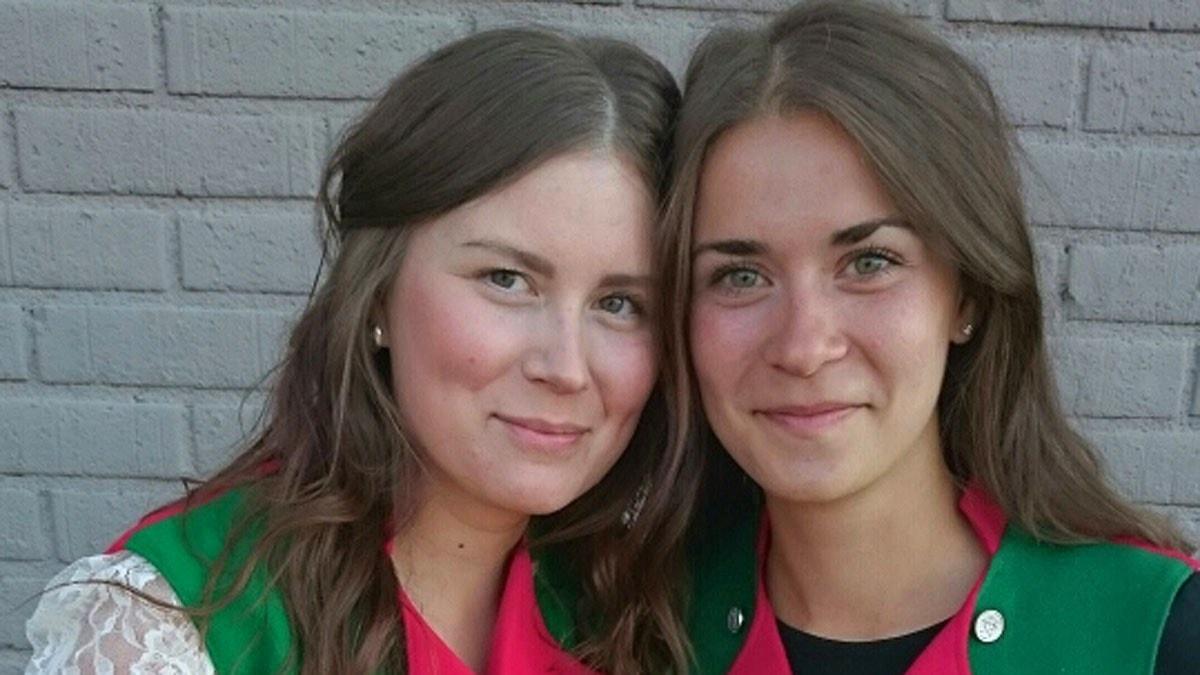 Elli-Ristin Tuorda och Fanny Nilsson Mäkikaltio. Foto: Patric Bennysson