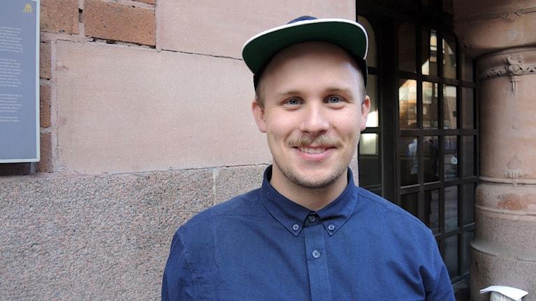 Magnus Sandström. Foto: Sameradion & SVT Sápmi