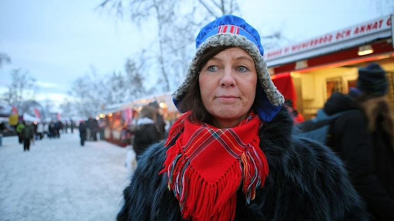 Pia Maria Holmgren, Luleå. Foto: Sameradion och SVT Sápmi