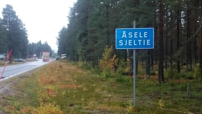 Åsele / Sjeltie. Foto: Sameradion & SVT Sápmi.
