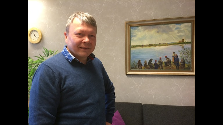 Nils Wasara Hammare. Foto Lars-Ola Marakatt/ Sameradion & SVT Sápmi