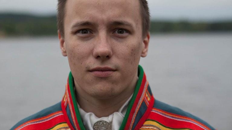 Isak Utsi. Foto: Sáminuorra pressbild