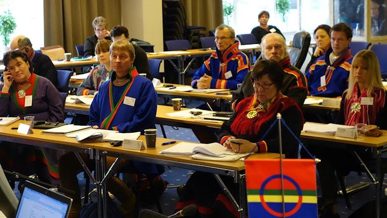 Oppositionen. Foto David Rydenfalk, Sameradion & SVT Sápmi.