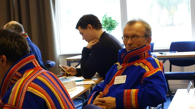 Lars-Jon Allas i Guovssonásti. Arkivfoto: David Rydenfalk, Sameradion & SVT Sápmi.