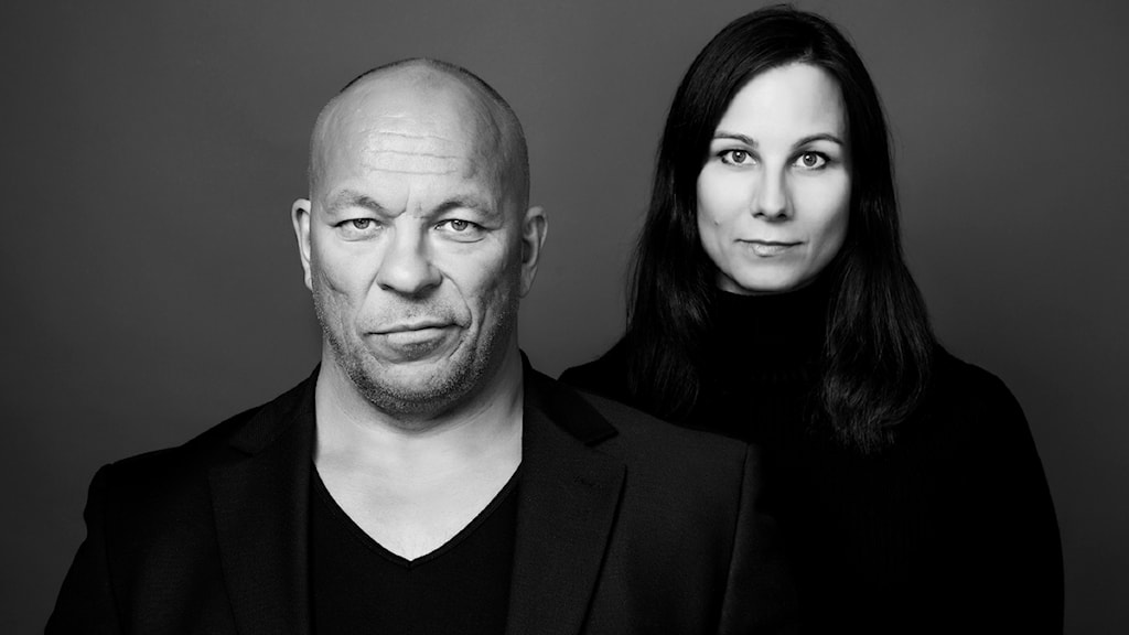 Sven Erik Utsi och författaren Susanne Haetta. Foto: Per Heimly