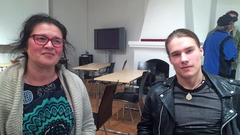 Lise Tapio Pittja, Nila Omma. Foto: John Kuoljok/Sameradion & SVT Sápmi